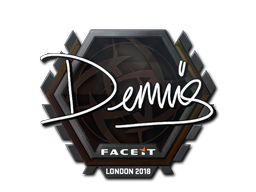 Sticker | dennis | London 2018