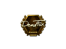 Skin Sticker | DeadFox (Gold) | London 2018