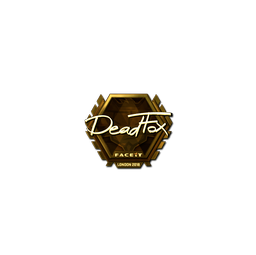 Sticker | DeadFox (Gold) | London 2018