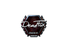 Skin Sticker | DeadFox (Foil) | London 2018