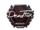 Sticker | DeadFox | London 2018