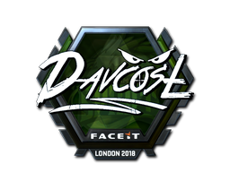 Sticker | DavCost (Foil) | London 2018