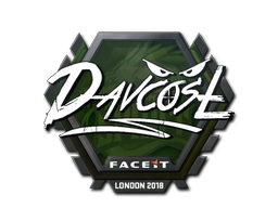 Sticker | DavCost | London 2018