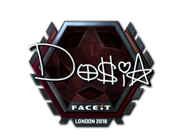 Sticker | Dosia (Foil) | London 2018