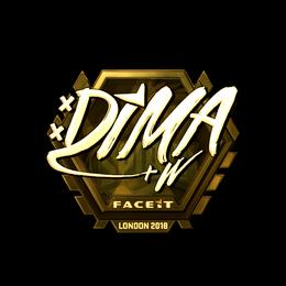 Dima (Gold) | London 2018