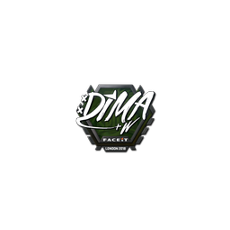Sticker | Dima | London 2018