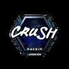 Sticker   crush (Foil)   London 2018