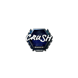 Sticker | crush (Foil) | London 2018