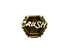Skin Sticker | crush (Gold) | London 2018