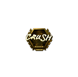 Sticker | crush (Gold) | London 2018