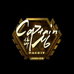 captainMo (Gold) | London 2018