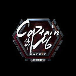 captainMo (Foil) | London 2018