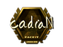 Skin Sticker | cadiaN (Gold) | London 2018