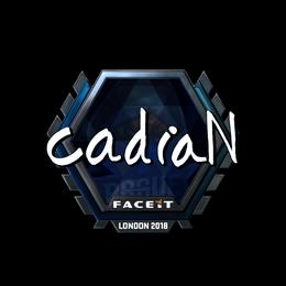 cadiaN (Foil) | London 2018
