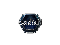 Skin Sticker | cadiaN (Foil) | London 2018