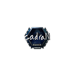 Sticker | cadiaN (Foil) | London 2018