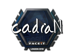 Sticker | cadiaN | London 2018