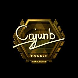 cajunb (Gold) | London 2018
