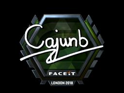 cajunb | London 2018