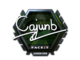 Sticker | cajunb (Foil) | London 2018