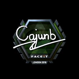 cajunb (Foil)   London 2018