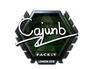 Skin Sticker | cajunb (Foil) | London 2018