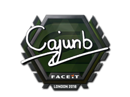 Sticker | cajunb | London 2018