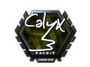 Sticker | Calyx (Foil) | London 2018