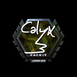 Calyx (Foil)   London 2018