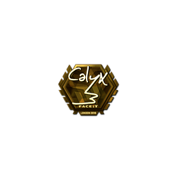 Sticker | Calyx (Gold) | London 2018