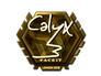 Skin Sticker | Calyx (Gold) | London 2018