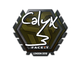 Sticker | Calyx | London 2018