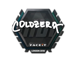Sticker | coldzera | London 2018