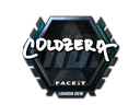 Sticker | coldzera (Foil) | London 2018