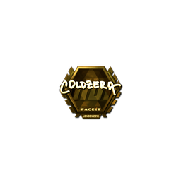 Sticker | coldzera (Gold) | London 2018