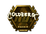 Skin Sticker | coldzera (Gold) | London 2018