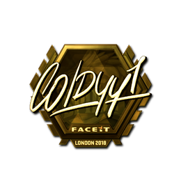 COLDYY1 (Gold) | London 2018