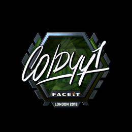 COLDYY1 (Foil) | London 2018
