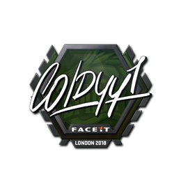 COLDYY1 | London 2018