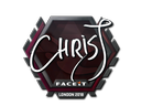 Sticker | chrisJ | London 2018
