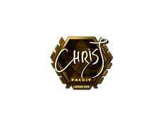 Skin Sticker | chrisJ (Gold) | London 2018