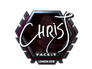 Skin Sticker | chrisJ (Foil) | London 2018