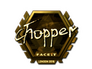 Skin Sticker | chopper (Gold) | London 2018