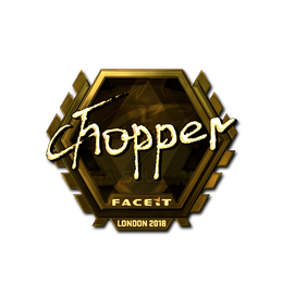chopper (Gold) | London 2018