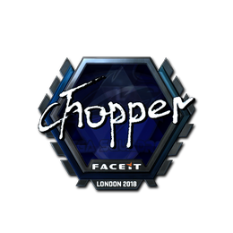 chopper (Foil) | London 2018