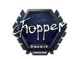 Sticker | chopper | London 2018