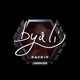 byali (Foil) | London 2018