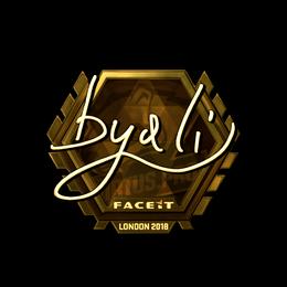 byali (Gold) | London 2018