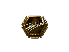 Skin Sticker | balblna (Gold) | London 2018
