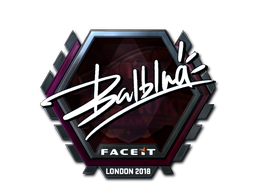 Sticker | balblna (Foil) | London 2018